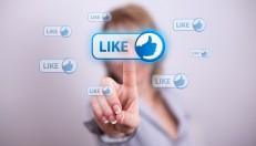 social media afgeschermd