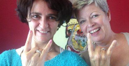 Eenenzestigjarige starter Christien Eising - Paola Pisu