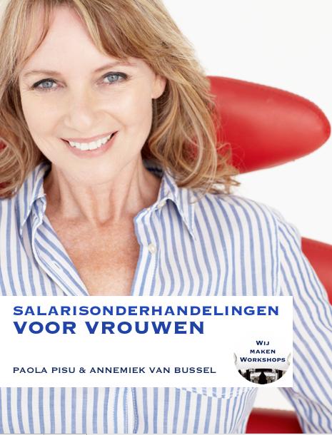 Gratis e-book Salarisonderhandelingen voor Vrouwen - Wij maken Workshops